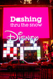 Disney Store Manhattan, NYC Christmas season Royalty Free Stock Image