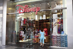 Disney store Milan Stock Photos