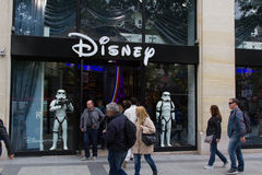 Disney Store in Paris Royalty Free Stock Images