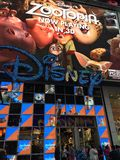 Disney Store at Times Square in New York Royalty Free Stock Image