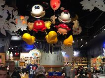 Disney Store at Times Square in New York Stock Image