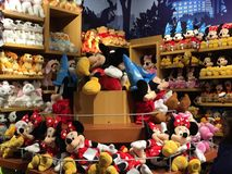 Disney Store at Times Square in New York Stock Images