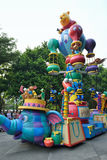 Disney ståtar i Hong Kong Royaltyfri Fotografi