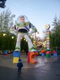 DISNEY Studio PARIS, Buzz lightyear Royalty Free Stock Photography