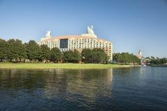 Disney Swan Resort Florida Stock Photo