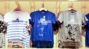 Disney t-shirts collection Stock Photography