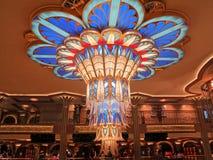Disney-Traum-Leuchter Stockbild