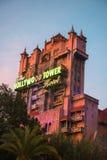 Disney världstorn av skräcken, lopp arkivbilder