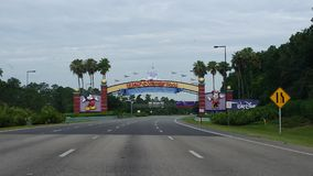 Disney wejście Obrazy Royalty Free
