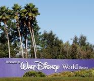 Disney-Welt Lizenzfreie Stockfotos
