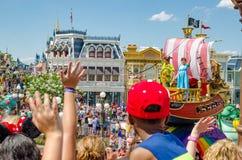 Disney światowy Magiczny królestwo Obraz Royalty Free