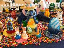 Disney Wielkanocni jajka Zdjęcia Stock