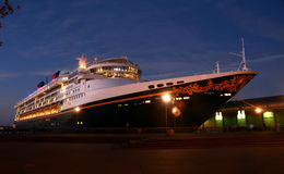 Disney Wonder ship visiting California port Royalty Free Stock Image