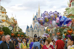 Disney World. This picture was taken during end of Oct, 2012. at Magic Kingdom, Disney World, Orlando, Florida, USA Royalty Free Stock Images