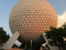 Disney world. Beautiful picture of Epcot Stock Image