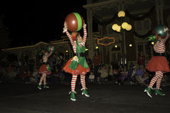 Disney World Christmas Parade Royalty Free Stock Photography