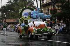 Disney World Christmas Parade at Hollywood Studios Stock Image