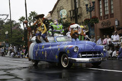 Disney World Christmas Parade at Hollywood Studios Stock Photo