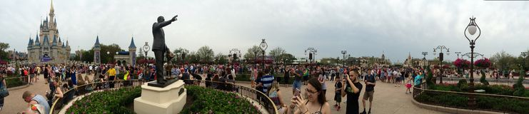Disney World Cinderella Castle fotos de stock royalty free