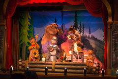 Disney World Country Bear Jamboree Royalty Free Stock Photo