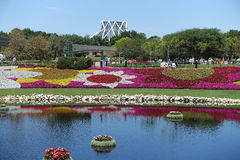 Disney World Epcot International Flower and Garden Festival Royalty Free Stock Photography