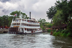 Disney World Frontierland Riverboat Travel Stock Images