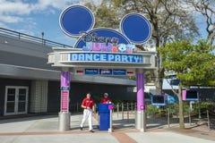 Disney World Junior Dance Party, Reise stockfoto