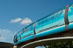 Disney World Monorail Royalty Free Stock Photography