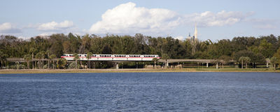 Disney World Monorail Stock Photo