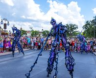Disney World Orlando Florida Magic Kingdom parade. Parade at  walt disney world orlando florida Stock Photos