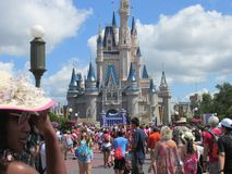 Disney world. The princess castle Stock Images