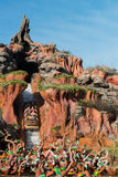 Disney World Splash Mountain Roller Coaster Royalty Free Stock Photos