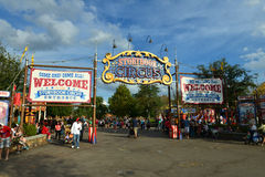 Disney World Storybook Circus Entrance Stock Photos