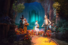 Disney World Wizard of Oz Great Movie Ride Stock Images