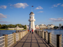 Disney Yacht Club Lighthouse Stock Images