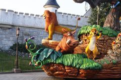 Disneylâandia Paris 1ö Anniversarry Imagens de Stock Royalty Free