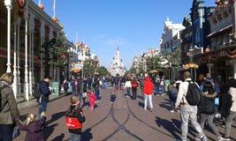 Disneylâandia Paris 1ö Anniversarry Imagens de Stock