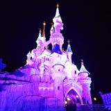 Disneylâandia Paris 1ö Anniversarry Foto de Stock Royalty Free