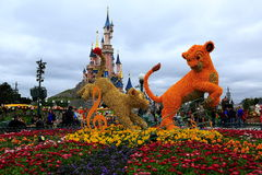 Disneylândia, Paris Imagem de Stock Royalty Free