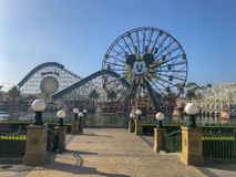 Disneyland's California Adventure Mickey Mouse Farris Wheel royalty free stock photos