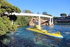 Disneyland που βρίσκει το υποβρύχιο ταξίδι Nemo Στοκ φωτογραφία με δικαίωμα ελεύθερης χρήσης