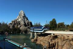 Disneyland affärsföretag arkivfoto