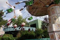 Disneyland amusement park for children Paris, France Royalty Free Stock Images