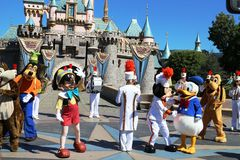 Disneyland Anaheim arkivfoto