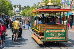 Disneyland in Anaheim, Kalifornien stockfotos