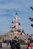 Disneyland castle Royalty Free Stock Image