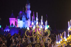 Disneyland charakterów czarodziejska świeczka Obraz Stock