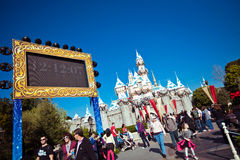 DisneyLand Countdown Royalty Free Stock Images