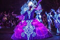 Disneyland czarodziejki charaktery Zdjęcie Royalty Free