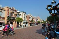 November 2017 Hongkong Disneyland Royalty Free Stock Photography